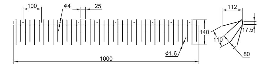 Solar Panel Bird Spike Specifications